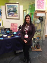 Claudia Luque Studio - Claudia Luque at East Finchley Open 2014