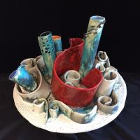 Claudia Luque Studio - 422_314_Claudia_Luque_Sea_Pipes_400_Stoneware